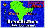 World Tour: Indian Sub-Continent Amiga Title screen