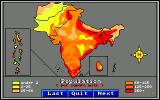 World Tour: Indian Sub-Continent Amiga Population map