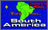 World Tour: South America Amiga Title screen