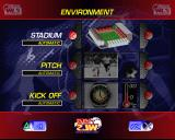 World League Soccer '98 PlayStation The Game Environment settings