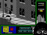 "Last Ninja 2: Back with a Vengeance ZX Spectrum Level 2, ""The Streets"": Hot dog cart.<br>