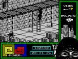 "Last Ninja 2: Back with a Vengeance ZX Spectrum Level 4, ""The Basement"": Searching for a special card."