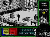 "Last Ninja 2: Back with a Vengeance ZX Spectrum Level 4, ""The Basement"": Warehouse."