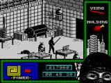 "Last Ninja 2: Back with a Vengeance ZX Spectrum Level 4, ""The Basement"": <i>A chicken's leg can be eaten and choke</i>."
