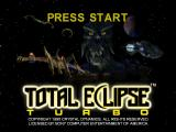 Total Eclipse PlayStation Title screen. I actually kinda like the logo.