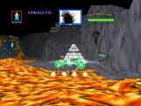 Total Eclipse PlayStation Magma Prime. The second area has a lava theme.