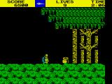 Ghosts 'N Goblins ZX Spectrum At entrance to forest.