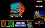 "Last Ninja 2: Back with a Vengeance DOS Level 2, ""The Street"": tittle screen."