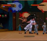 Dragon: The Bruce Lee Story SNES The flip kick is useful