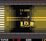 Tony Hawk's Pro Skater 2 Game Boy Color Grinding the taxi.