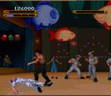 Dragon: The Bruce Lee Story SNES Mr. Lee assumes the victory position