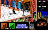 "Last Ninja 2: Back with a Vengeance DOS Level 2, ""The Street"": Entering the sub-word of ""The Sewers"".<br>"