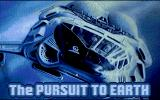 The Pursuit to Earth Atari ST Title screen