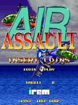 Air Assault Arcade Start screen