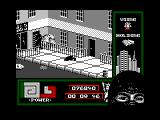 "Last Ninja 2: Back with a Vengeance Amstrad CPC Level 2, ""The Streets"": The Gyms door.<br>