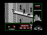 "Last Ninja 2: Back with a Vengeance Amstrad CPC Level 5, ""The Office"": Ladder to the roof.<br>