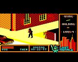 "Last Ninja 2: Back with a Vengeance BBC Micro Level 2, ""The Street"": Starting Point."
