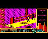 "Last Ninja 2: Back with a Vengeance BBC Micro Level 3, ""The Sewers"": <i>Kunitoki's</i> Ninjas<br>
