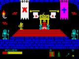 Sir Fred ZX Spectrum Throne room.