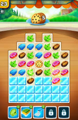 Snack Truck Fever Android Here you need to bring the chocolate cookies down to the bottom of the board.
