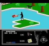 "Last Ninja 2: Back with a Vengeance NES Level 1, ""The Park"": The Boat.<br>