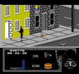 "Last Ninja 2: Back with a Vengeance NES Level 2, ""The Street"": Nice old ladies throwing vases.<br>
