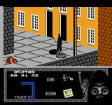 "Last Ninja 2: Back with a Vengeance NES Level 2, ""The Street"": Passage to ""The Sewers""."