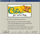 Catz II: Your Virtual Petz Windows DOGZ II comes with a demo version of CATZ II<br>This is the demo version's opening screen