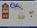 Catz II: Your Virtual Petz Windows A mouse has appeared! This is the demo game, in the retail version there are two mice who need to be tempted from there hole with cheese