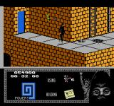 "Last Ninja 2: Back with a Vengeance NES Level 3, ""The Sewers"": Starting point."