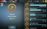 Sniper Fury Android Achievements and objectives