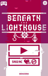Beneath the Lighthouse Android Title screen