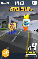 Shape Up: Battle Run Android The environment is different for each mission.