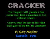 Cracker Amiga The title screen