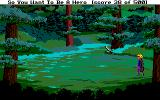 Hero's Quest: So You Want to Be a Hero Amiga Into the forest
