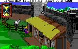 Hero's Quest: So You Want to Be a Hero Amiga Work in the stables