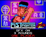 Fist Fighter Amiga Title screen