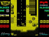 Sky Shark ZX Spectrum Landing at airport in end of stages.