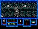 Game Over ZX Spectrum Second phase. Guard lost his wings.