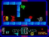 Game Over II ZX Spectrum Prison level.