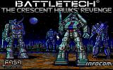 BattleTech: The Crescent Hawks' Revenge DOS Title Screen (EGA)