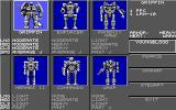 BattleTech: The Crescent Hawks' Revenge DOS Tech manage (EGA)