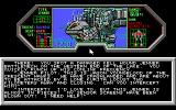 BattleTech: The Crescent Hawks' Revenge DOS Zoom of the wrecked shuttle (EGA)