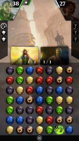 Magic: The Gathering - Puzzle Quest iPhone Game scene