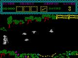 The Curse of Sherwood ZX Spectrum Angry birds.