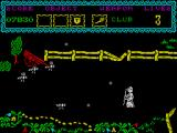 The Curse of Sherwood ZX Spectrum Bees. They are angry too.