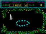The Curse of Sherwood ZX Spectrum Teleportation circle.