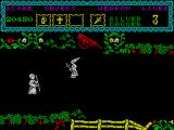 The Curse of Sherwood ZX Spectrum This person has a ice wand.