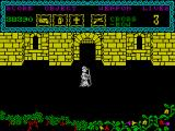 The Curse of Sherwood ZX Spectrum Entrance to the castle.