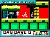 Dan Dare II: Mekon's Revenge ZX Spectrum Level 1 (as <i>Mekon</i>): Releasing a <i>Super Treen</i>.<br>